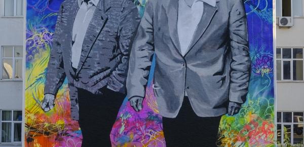 Colombia hace entrega a Turquía del segundo mural que conmemora los 60 años de relaciones diplomáticas entre los dos países