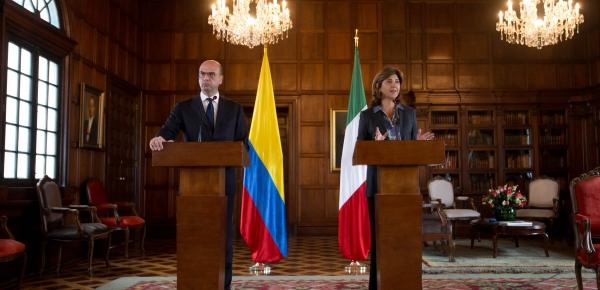 Declaraciones de la Ministra de Relaciones Exteriores de Colombia y del Ministro de Asuntos Exteriores y Cooperación Internacional