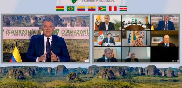 En dos años Colombia ha dado importantes saltos en materia ambiental, resalta el Presidente Iván Duque