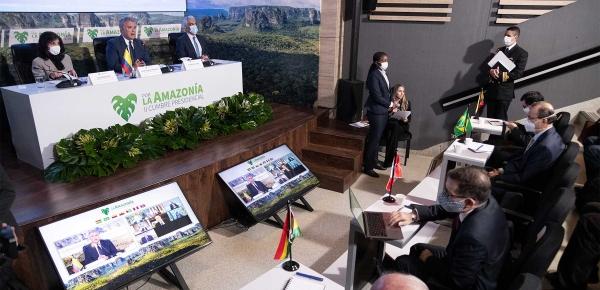 Hoy con esta declaración damos un paso más importante para seguir reafirmando la protección de la Amazonia: Iván Duque