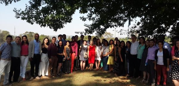 """Con """"Tarde Colombiana"""" Embajada de Colombia en Pretoria integra a estudiantes de español con grupo de voluntarios universitarios colombianos del programa """"Prosperity Makers"""""""