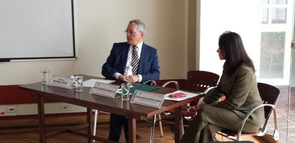 Embajador de Alemania en Colombia comparte sus reflexiones sobre seguridad en Europa