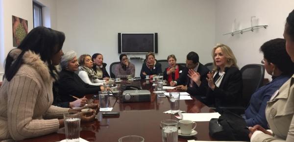 Estudiantes del Colegio Mayor de Bolívar visitaron la Embajada de Colombia en Washington, las Misiones de Colombia ante la OEA y ante la ONU, con el apoyo de la Academia Diplomática