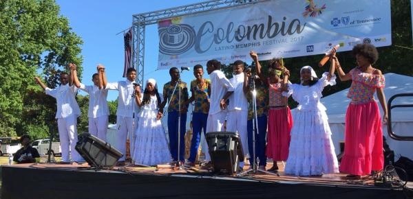 En el festival Memphis in May culminó intercambio cultural de jóvenes de Nariño y Bolívar en Estados Unidos