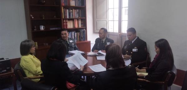 Cancillería y Escuela Superior de Guerra planificaron la agenda para 2017 en la reunión del Comité Administrativo del Convenio de Cooperación Académica