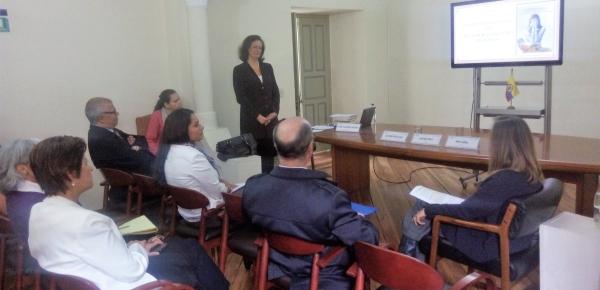 La esclavitud moderna y la lucha contra el comercio de seres humanos fue el tema central de la conferencia dictada por la Embajadora Astrid Valladares