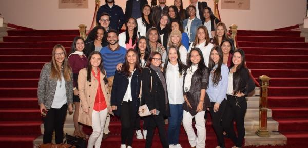 Estudiantes de la Universidad del Norte visitaron la Academia Diplomática para conocer sobre política exterior