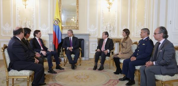 Presidente Iván Duque recibió las cartas credenciales del Embajador de Chile en Colombia, Ricardo Hernández