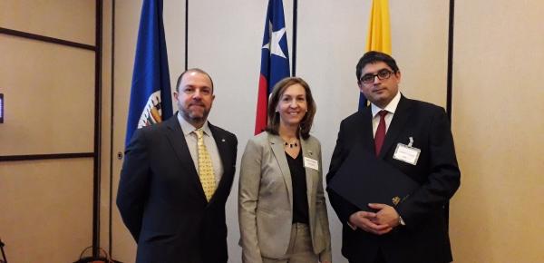 Delegación de Colombia participa en la 2ª reunión del Grupo de Trabajo sobre medidas de fomento de cooperación