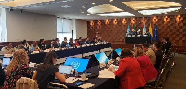 """Colombia participa en Reunión """"Fortalecimiento de la cooperación regional en América Latina para Prevenir y Combatir el tráfico ilícito de armas de fuego y delitos conexos"""""""