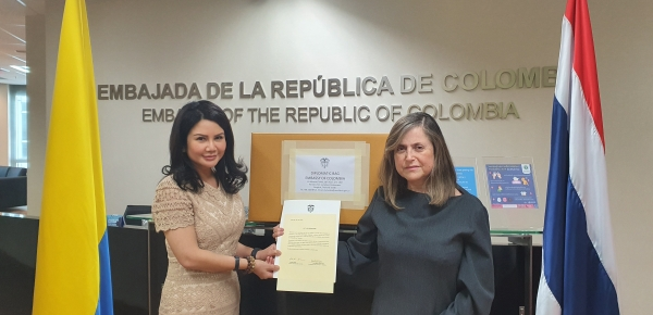 Compañía tailandesa realizó donación de 2.400 tapabocas quirúrgicos para la comunidad colombiana en China