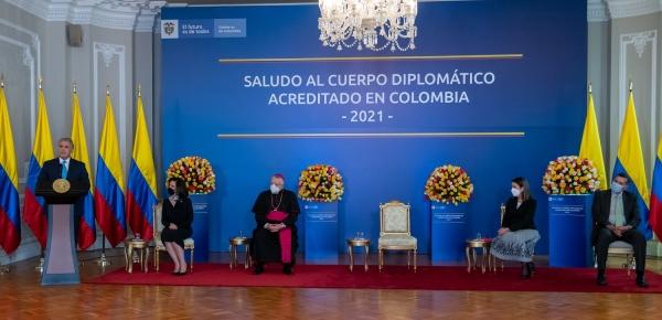 Presidente Duque hace llamado a la colaboración internacional para garantizar que la adquisición y distribución de vacunas proceda sin ningún obstáculo