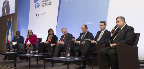 La Canciller Holguín presidió panel de alto nivel en la conferencia de Unicef 'Protejamos a los niños de la guerra'