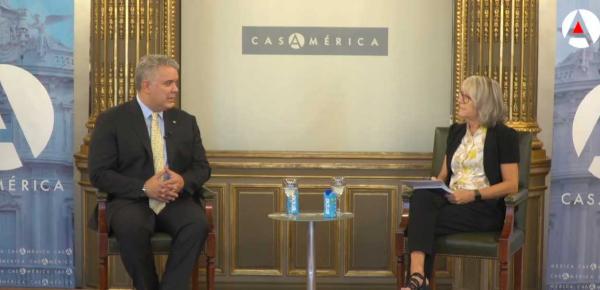 Presidente Duque confirma que se materializaron USD 2.500 millones de inversión española en Colombia