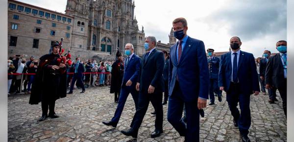 Presidente de la Comunidad de Galicia manifestó su disposición de ampliar inversión directa en Colombia