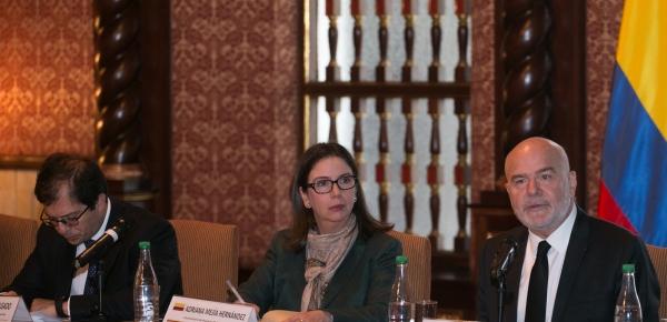 Cancillería presidió la reunión de trabajo entre las entidades del gobierno nacional y el Relator Especial de Naciones Unidas sobre la situación de los derechos humanos