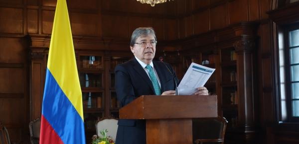 Canciller hace llamado a comunidad internacional para aumentar recursos para la crisis migratoria