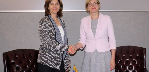 Cancilleres de Colombia y Bulgaria sostuvieron encuentro bilateral, en el marco Naciones Unidas