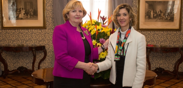 Colombia y Eslovenia sostuvieron la segunda reunión
