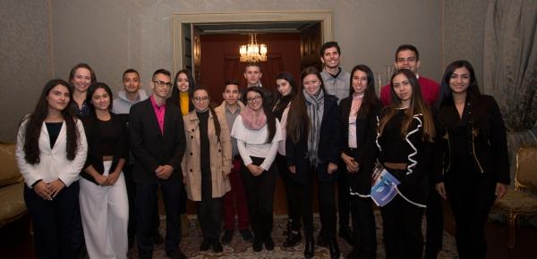 Delegación de la Universidad Católica de Pereira visitó la Academia Diplomática 'Augusto Ramírez Ocampo'