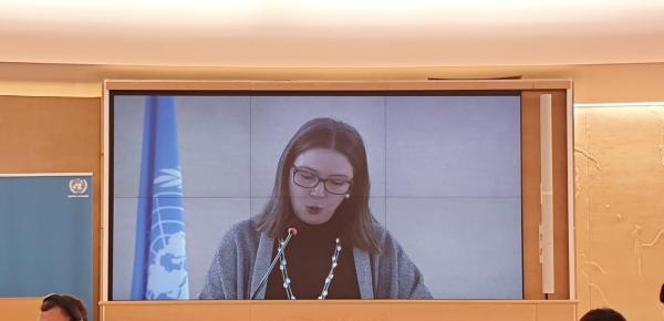 Viceministra de Asuntos Multilaterales participó en el Segmento de Alto Nivel del Consejo de Derechos Humanos