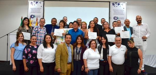 Cancillería y Cámara de Comercio de Pereira certifican a colombianos emprendedores retornados del exterior