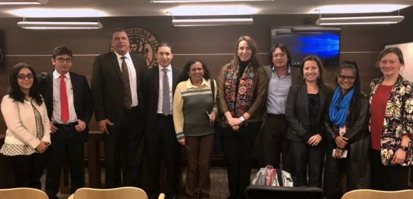 La Cancillería participó en el Diálogo e intercambio de experiencias sobre planes nacionales de acción en Derechos Humanos y Empresas