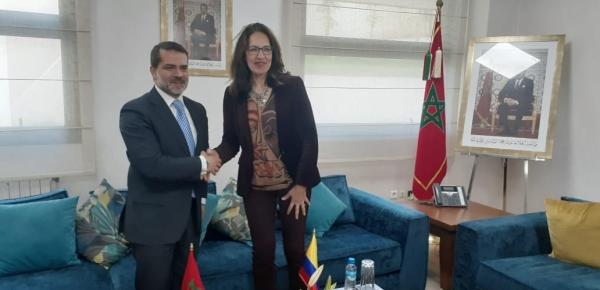 Director de Asia, África y Oceanía y Directora de Asuntos Americanos de Marruecos presidieron la III Reunión del Mecanismo de Consultas Políticas en Rabat