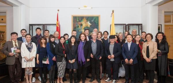 Director Sergio Cabrera participa en el X Ciclo de Cine Colombiano en la República Popular China
