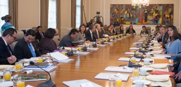 Canciller María Ángela Holguín asistió al Consejo de Ministros liderado por el Presidente Juan Manuel Santos