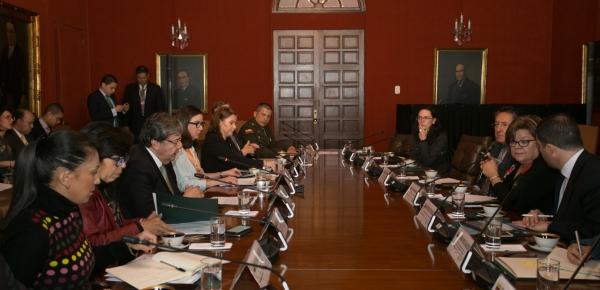 II Reunión de la Instancia de Alto Nivel para la Coordinación de la Acción Exterior trató el tema de la nueva política para la lucha contra el problema mundial de las drogas