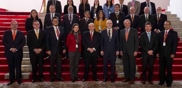 Finalizó la reunión de coordinadores nacionales del Grupo de Lima