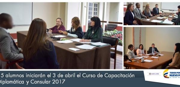 El 3 de abril, 35 alumnos iniciarán el Curso de Capacitación Diplomática y Consular