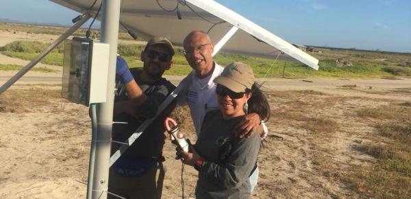 Cancillería instaló sistema fotovoltaico en el Centro Educativo Carrizal, en La Guajira