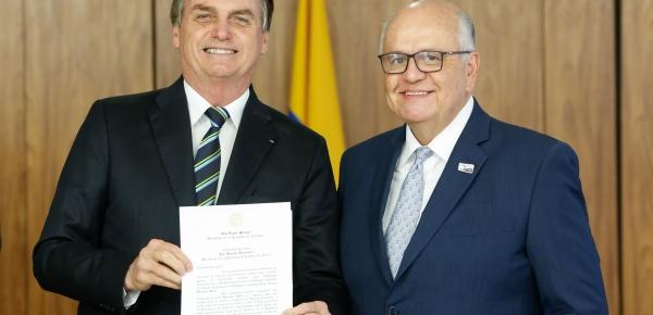 Embajador Darío Montoya Mejía entregó sus cartas credenciales en el Palacio Planalto al Presidente de Brasil