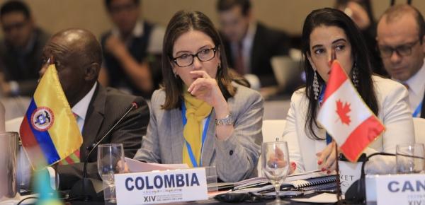 La Viceministra de Asuntos Multilaterales, Adriana Mejía, participó en la XIV Reunión del Grupo de Lima