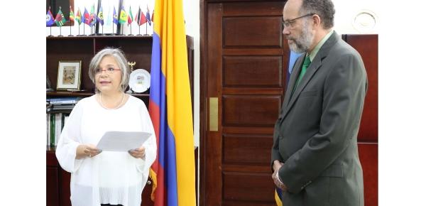 Embajadora Martha Cecilia Pinilla presentó Cartas Credenciales ante la Comunidad del Caribe