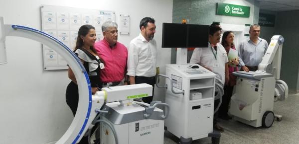 Dirección de Fronteras de la Cancillería participó en la entrega de equipos que realizó la Agencia de Cooperación Alemana GIZ al Hospital Erasmo Meoz de Cúcuta, por 188 mil euros