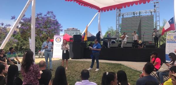Tercera Feria de Servicios para colombianos en Chile