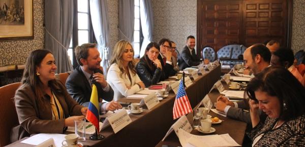 Colombia y los Estados Unidos fortalecen su relación en materia cultural, educativa, deportiva y científica