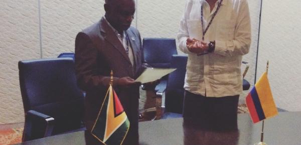 Guyana levanta el requisito de visa de corta estadía a los colombianos
