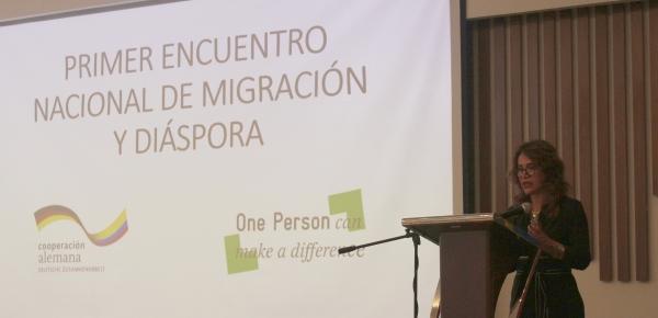 """Cancillería participó en """"Primer encuentro nacional Migración y Diáspora"""""""