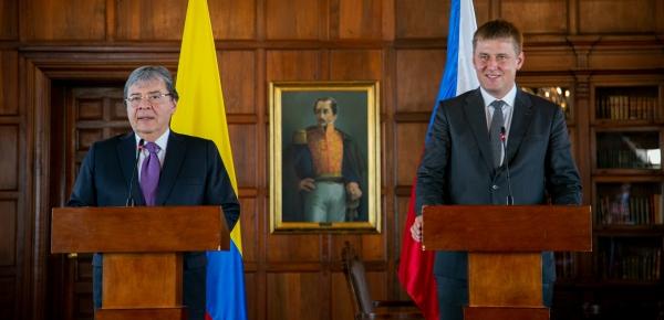 Ministro de Relaciones Exteriores de República Checa, Tomas Petricek, reafirmó apoyo a Colombia en atención de crisis migratoria