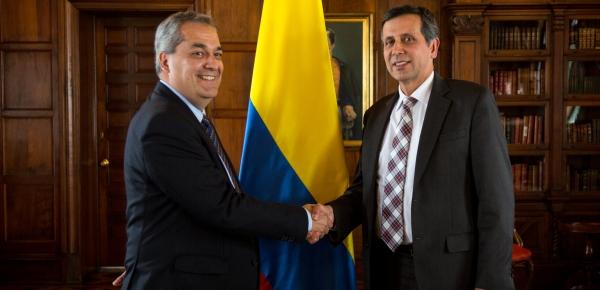 Embajador de Carrera Diplomática y Consular asumió el cargo de Director de la Academia Diplomática de la Cancillería