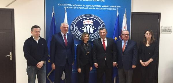 La Viceministra Patti Londoño visitó Georgia para desarrollar las segundas Consultas Políticas entre ese país y Colombia