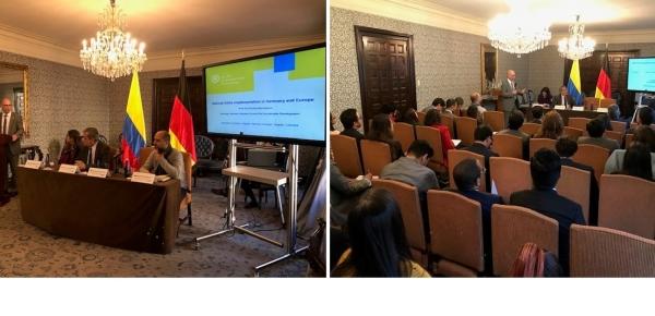 Academia diplomática ofreció conferencia sobre implementación de la Agenda 2030 en Alemania y la Unión Europea