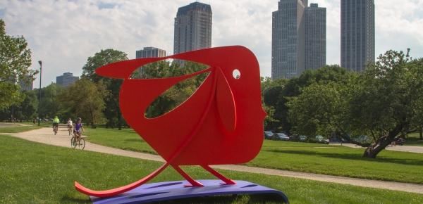 Primera artista latinoamericana en exponer en Chicago Sculpture Exhibit es colombiana, los invitamos a visitar su obra