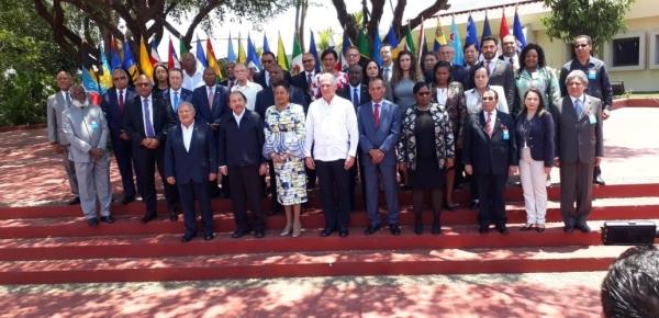 Colombia participó en la XXIV Reunión Ordinaria del Consejo de Ministros y el VIII Encuentro de la Asociación de Estados del Caribe AEC