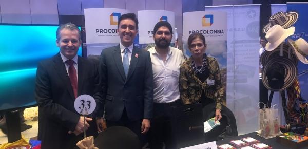 Embajada de Colombia hace presencia en la quinta edición del encuentro de agencias de viajes en Filipinas