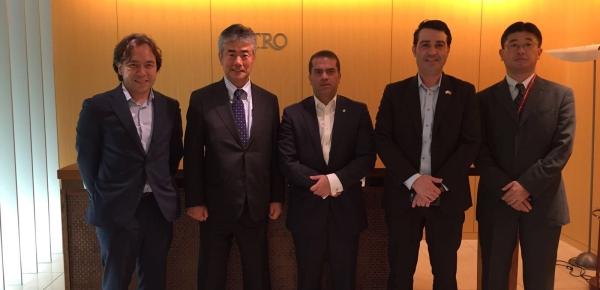 Director de Asia, África y Oceanía abordó temas de agenda bilateral, comercio, cooperación y turismo durante su visita de trabajo en Japón